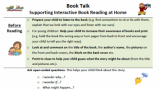 A Guide to Supporting Interactive Reading at Home