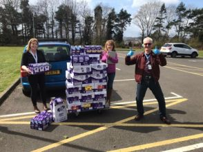 Ardnashee donates easter eggs to nhs workers